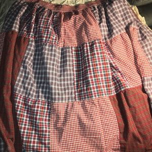 St Johns Bay Country Patch long skirt